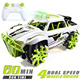 VillaCool Remote Control Car Four-Wheels Driving Off-Road Vehicle High Speed Racing Truck with Low/High Speed Dual Mode Switch 360 Degree Rotation Drift Stunt Toy car for Kid and Teens