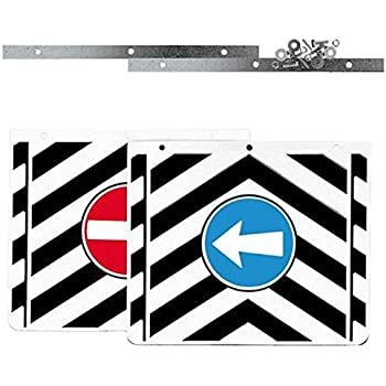 TRUCK DUCK/® Universal Mud Flaps Flap Set 40x30 cm Truck Trailer Front Back Protection