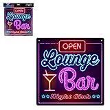 STC Neon Lounge-Bar-Schild.