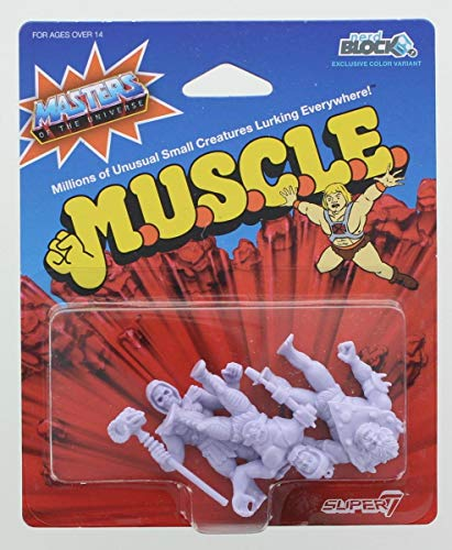 Toynk Masters of The Universe M.U.S.C.L.E. 3-Pack: Skeletor, Beast Man, Trap Jaw