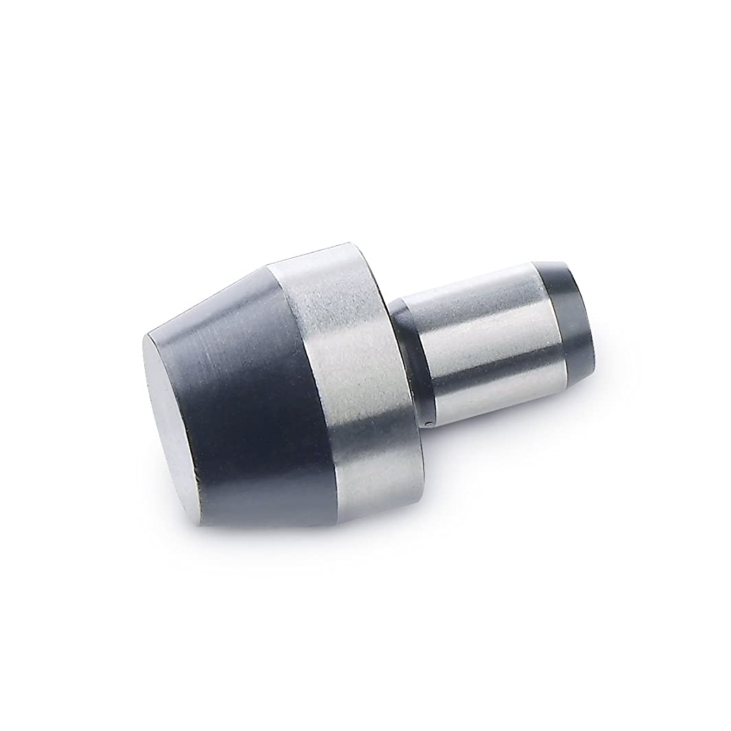 J.W. Winco 6321-6-7-B DIN6321 Locating Pin, Cylindrical with Center Hole, 4 mm Pin Diameter x 6 mm Pin Length, Steel