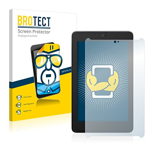 BROTECT Schutzfolie kompatibel mit Asus FonePad 7 ME372CG (2 Stück) klare Bildschirmschutz-Folie