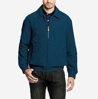 London Fog Men's Auburn Zip Front Light Mesh Lined Golf Jacket