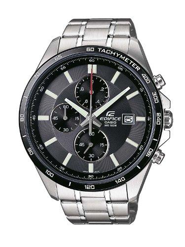 Casio Herren-Armbanduhr XL Edifice Analog Edelstahl EFR-512D-1AVEF