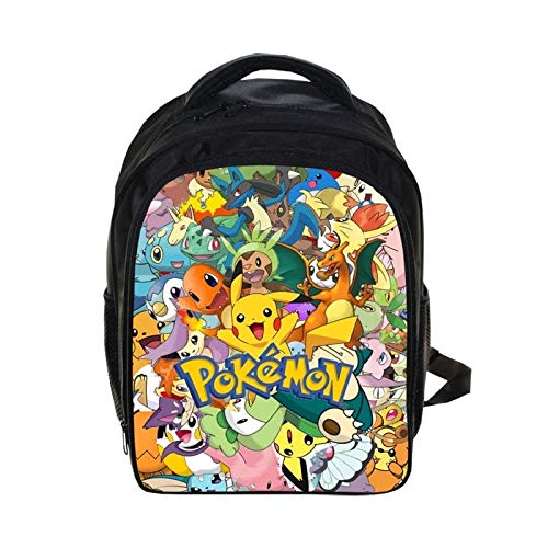 Gather together 13 Cwjl2h2 Anime Pokemon Backpack Pikacun Students School Bags Boys Girls Daily Backpacks Children Bag Kids Schoolbags Best Gift Backpack