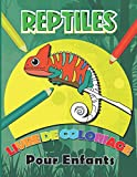 Reptiles Livre de Coloriage: Illustrations de Serpents, lézards, tortues et crocodiles pour enfants