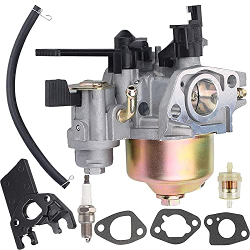 212cc Carburetor Replacement for Harbor Freight Predator 212cc R210 6.5HP 7HP OHV Horizontal Engine Replace Models 60363 68121 69727 68120 69730 carb (with Spark Plug and insulator)