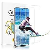 wsky Panzerglas Schutzfolie für Samsung Galaxy S20 [2 Stück], 9H Festigkeit, Anti-Kratzer, Transparenz, Anti-Bläschen, Leichte Montage, Ultra-Klarheit Bildschirmschutzfolie für Samsung Galaxy S20