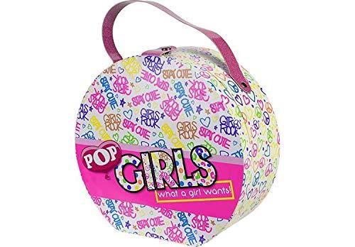 POP GIRLS NECESER REDONDO MAQUILLAJE