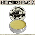 Mustache Wax by Mountaineer Brand (2oz)   All-Natural Beeswax and Plant-Based Oils for Moustache   No Petroleum… 3