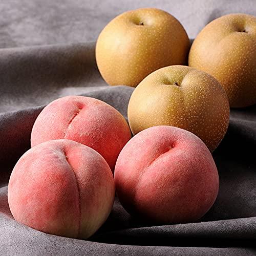 【お中元】桃と幸水梨詰合せ