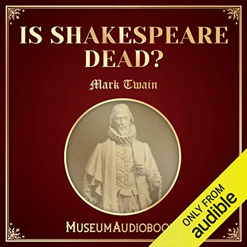 Is Shakespeare Dead? audiobook cover art