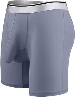 Men's Underwear Ice Silk Soft Comfortable Long Legged Elephant Bulge Boxer Panties Boxer Shorts Sweatpants