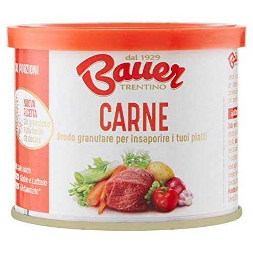 Bauer Brodo Granulare Istantaneo Carne - 120 Gr