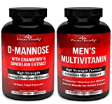 D-Mannose Capsules & Mens Multivitamin Bundle