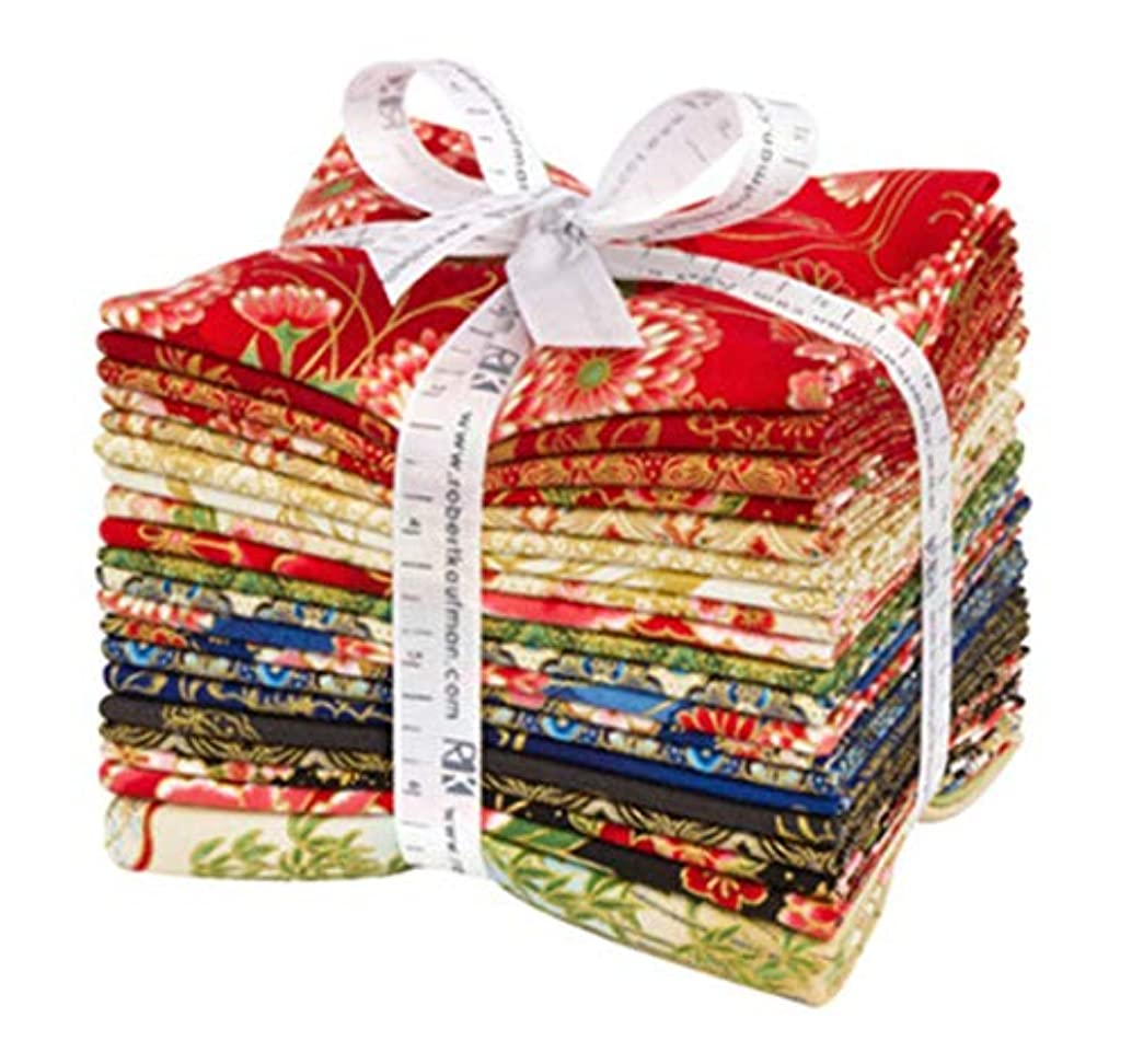 Imperial Collection Spring Colorstory 20 Fat Quarter Bundle by Hyun Joo Lee for Robert Kaufman