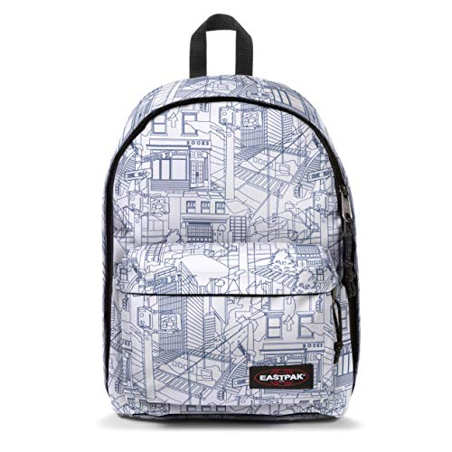 Eastpak Out of Office Zaino, 44 cm, 27 L, Bianco (Master White)