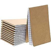 Im Set: Das Set von Paper Junkie enthält 12 Notizhefte mit Kraftpapier-Cover - innen liniert mit viel Platz für Reiseerlebnisse, To-do-Listen, Zeichnungen, Skizzen oder als Einkaufsliste Leicht und stabil: Sie sind leicht und passen in Reise- oder Ha...