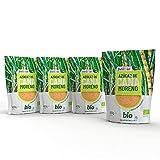 4x400g BELLBIO Azúcar moreno de caña integral eco. Edulcorante 100% natural. Organico, sin refinar