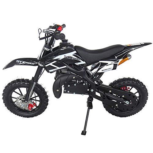SYX MOTO Kids Dirt Bike Holeshot 50cc Gas Power Mini Dirt Bike...