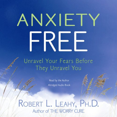 Anxiety Free audiobook cover art