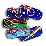 atFoliX Design Skin compatible avec Sony PSP-E1000 / E1004, choisissez votre design préféré, Autocollant Sticker (Drapeaux de l'Australie et de l'Océanie)