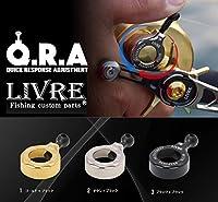 リブレ(LIVRE) Q.R.A 206タイプ GLBK(ゴールド×ブラック) 直径30.6 QRA-206-GLBK