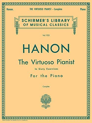 Virtuoso Pianist In 60 Exercises Complete (Lb925): Noten für Klavier: Schirmer's Library of Musical Classics, Vol. 925