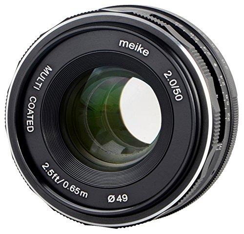 Meike - Objetivo para Fujifim X-Mount (35 mm, F1.7)