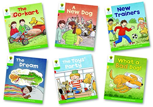 Hunt, R: Oxford Reading Tree: Level 2: Stories: Pack of 6