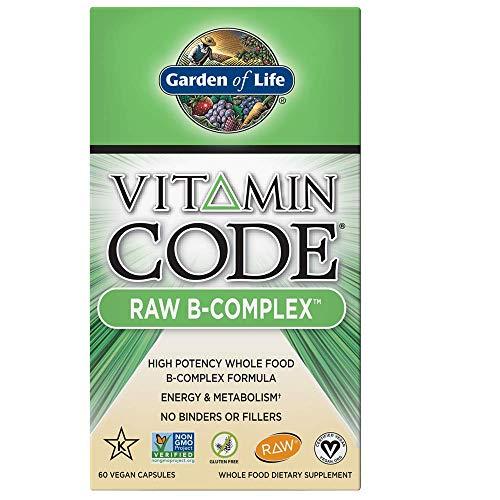 Garden of Life Vitamin Code Raw B-Complex, 180 Capsules