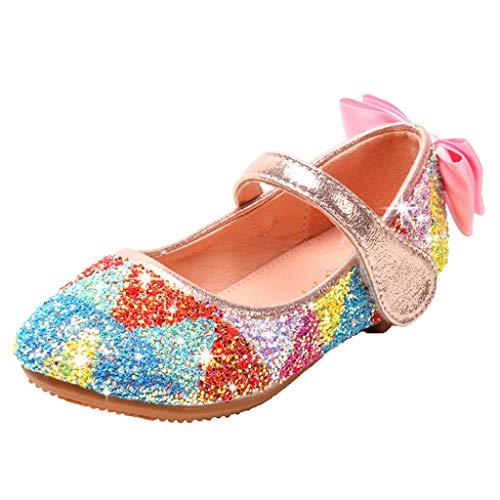 Zapatos para Niñas Tacon Baja Princesa Primavera 2020 PAOLIAN Zapatos de Vestir...