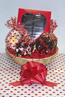 Scott's Cakes Large Cupids Arrow Valentine Basket no Handle Heart Wrapping
