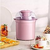 BECCYYLY Helado eléctrico automático, máquina de Helados para niños pequeños, Mini Fabricante de Hielo, Yogurt Sorbe Adecuado congelado wmpa