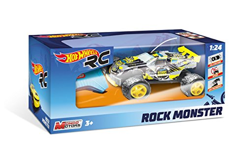 Mondo Motors- Hot Wheels Rock Monster Giocattolo Auto Radiocomandata, Multicolore, 1899-12-31T01:24:00.000Z, 8001011633395