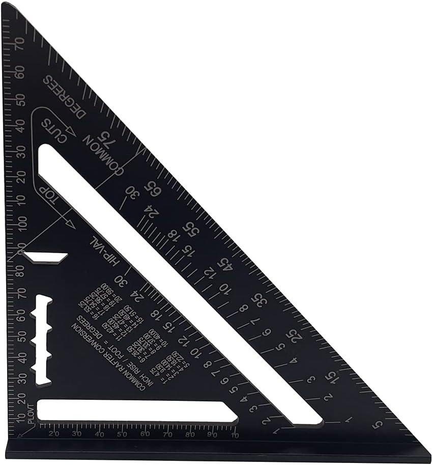 Boston Mall Aluminum Alloy Triangle Rulers 90 45 Set Detroit Mall Degrees Square