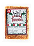 """Pasture Prides very own Juusto cheese is our version of the 200 year old Scandinavian cheese called """"Juustolepia."""" Pasture Pride has taken our traditional Juusto and added Red and Green Jalapeno Peppers Deliciously, warm spicy flavor Baked in special..."""