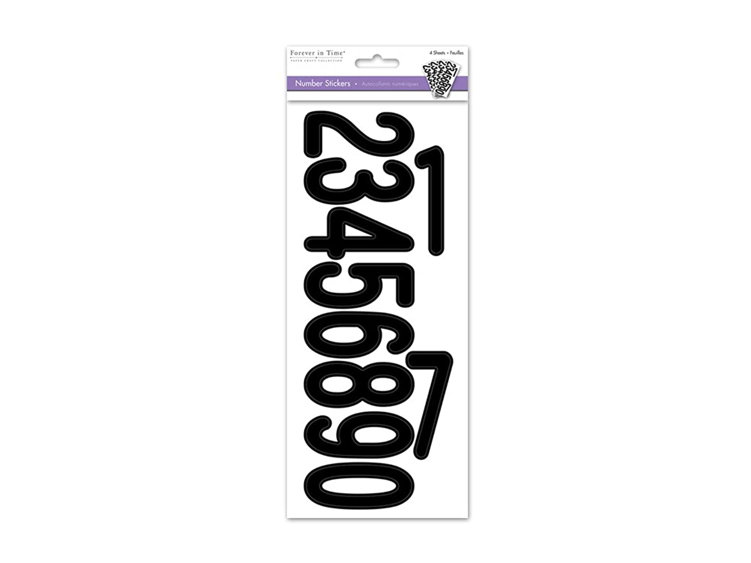 Forever in Time SS440D Letters Stickers, 3
