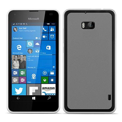 Conie BT27571 Basic TPU Kompatibel mit Nokia Lumia 930, Handycover Schutzhülle aus Silikon Basic Design TPU Case für Lumia 930 Handycase Transparent