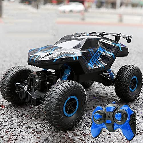 Kikioo Coche RC de alta velocidad para niños, juguete de carreras de conducción 4x4 2.4G Control remoto inalámbrico Coche Radio controlado Off-Road Drift Sport Cars Camiones monstruosos eléctricos par