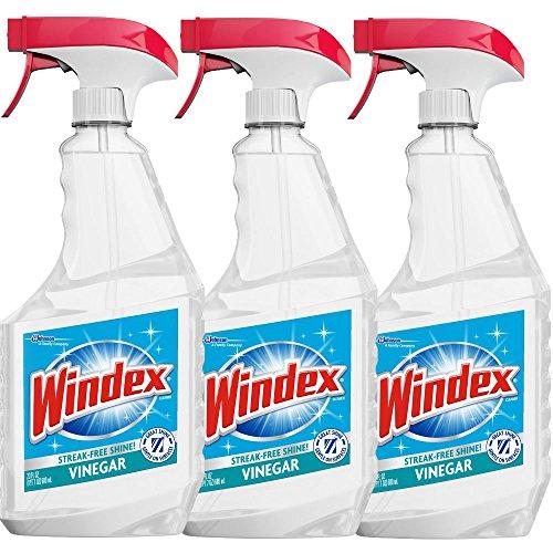 Windex Vinegar Cleaner, 23 Fl Oz (Pack of 3)