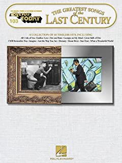Greatest Songs of the Last Century (E-Z Play Today)