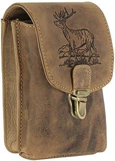 Greenburry Vintage Outdoor Gürteltasche Leder 11 cm