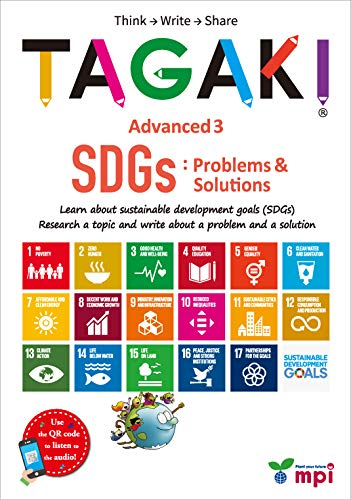 TAGAKI® Advanced 3 SDGs:Problems and Solutions (TAGAKI®(多書き))