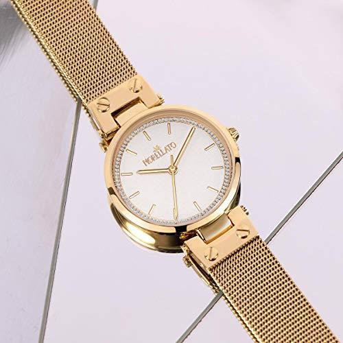 Morellato Orologio da donna, Collezione Shine, in ottone, acciaio, PVD oro - R0153162503