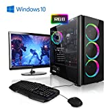 "Megaport PC-Gaming AMD Ryzen 5 2600 6x3.90GHz Turbo • LED 24"" TFT • Tastiera/Mouse..."
