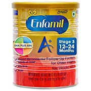 Enfamil A+ Stage 3 follow up formula for older infants is intended for infants from 12 months up to 24 months old. Contains DHA, Choline, and Iron. For detailed information about the product please refer to the pack label. Note: For any queries relat...
