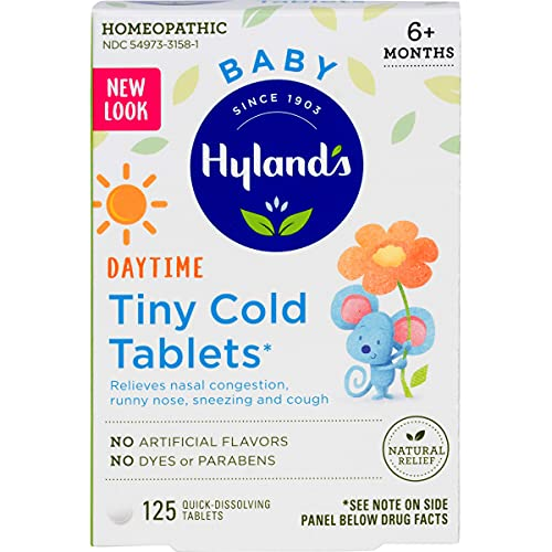 Hyland's Baby Tiny Cold Tablets Only $3.24 (Retail $9.99)