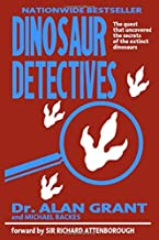 Dinosaur Detectives: Dr Alan Grant and Michael Backes Blank Lined 6x9 Journal (Diary, Notepad) inspired by the book from the classic film I Perfect Gift Jurassic Park fan