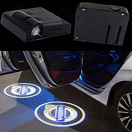 Sunflower Car Accessories,Sunflower Lights,Wireless Car Door Light Led Welcome Laser Projector,Welcome Courtesy Lamp Car Door Light,Puddle Light,No Wiring,No Punching,Suitable for All Vehicles